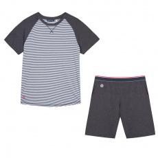 Le ZZZ Grey striped - Grey striped pyjama