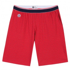 Le Zouzou - Red shorts with pattern