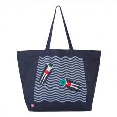Le Sandy Navyblue - Navyblue bag with pattern