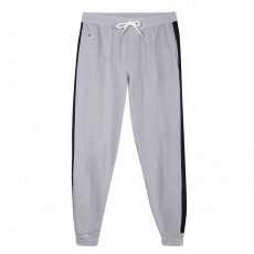 Le Yves - Grey jogging with blue stripe