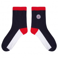 Les Lucie Tricolore - Blue white red socks