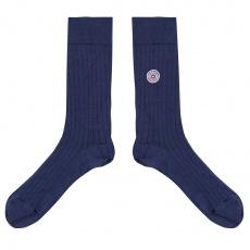 Les Nessy Indigo - Indigo scottish thread socks