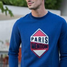 Le Barthe PARIS MENTON - Indigoblue sweat-shirt