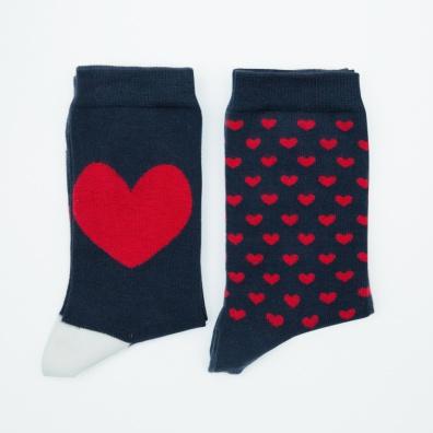 Duo Lucas Saint-Valentin - Chaussettes mi-hautes Saint-Valentin