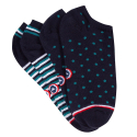 LES JO DUO STRIPES AND DOTS - Short socks pack