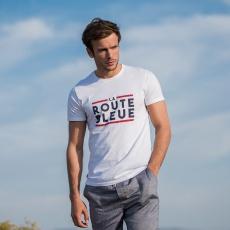 Le jean f LA ROUTE BLEUE- White t-shirt with print