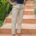 La simone BEIGE - Beige chino pants