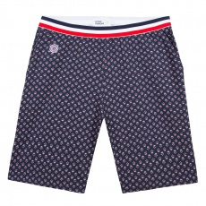 Le Zouzou PROVENSLIP - Navyblue shorts with pattern