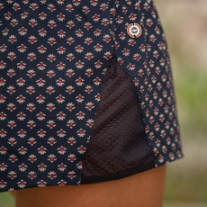La pio Provenslip Navyblue - Navyblue pyjama shorts