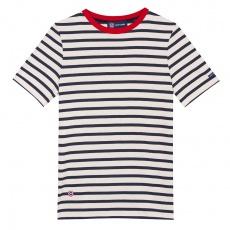 Le Jean Lou Navyblue - Striped t-shirt LSF x Saint James