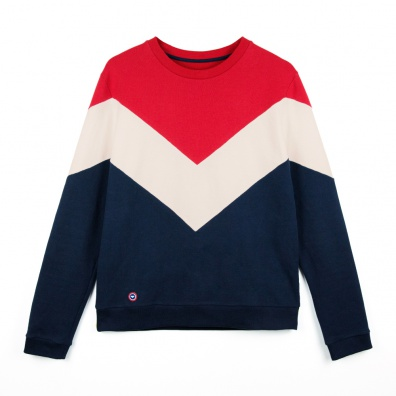 Sweat-shirt Tricolore - Sweat-shirt ESF