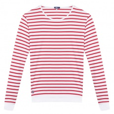 Le Marin - Red-white striped shirt