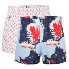 Le Jacques Duo - Boxer shorts with pattern