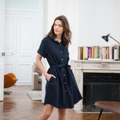 La margaux MARINE - Robe MARINE