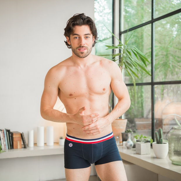The Marius - Blue Boxer Briefs