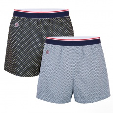 Le Roland Duo - Two boxer shorts with pattern