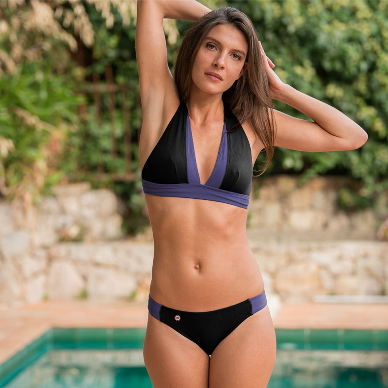la baie black - black bikini bottom - le slip français
