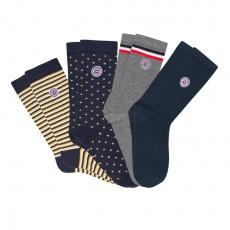 Les Lucas Quatro Box - 4 pairs of socks