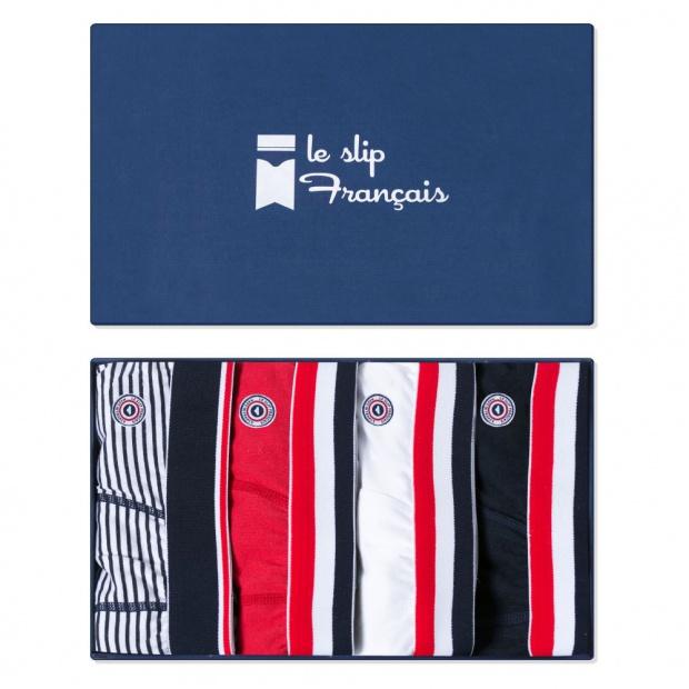 Quatro Slip Bleu-Blanc-Rouge