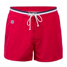 Le Capitaine - Red swim short