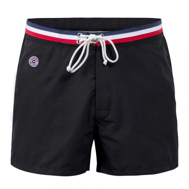 The Barracuda - Black Swim Shorts
