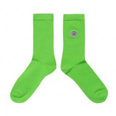 Les Lucas - Green socks