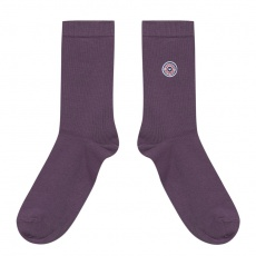 Les Lucas - Purple socks