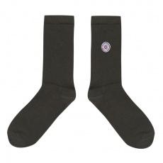 Les Lucas - Dark grey socks