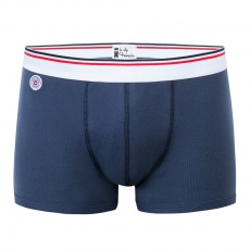 Le boxer d'Antan - 100% blue cotton