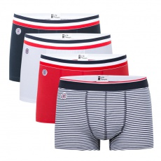 4 Pack boxer briefs - Blue/White/Red/Sailor