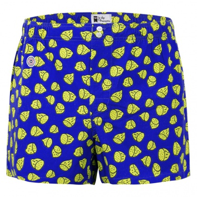 Le citron - Blue lemon pattern boxer short