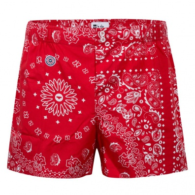 Le Jacques Bandana - Red bandana boxer short