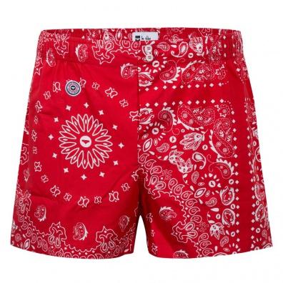 Le Bandana Rouge - Red bandana boxer short