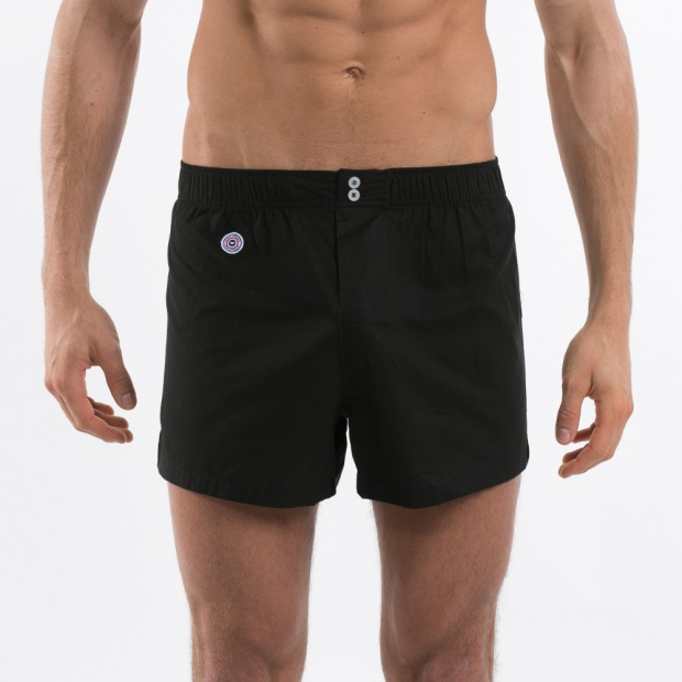 The Léon - Black Boxer Shorts