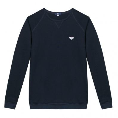 Le Raglan Bleu Marine - Navy blue sweat-shirt