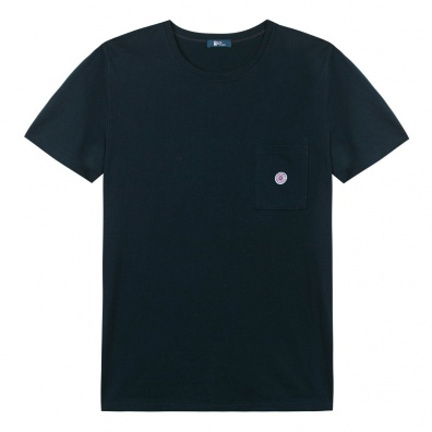Le Robert - Blue pocket t-shirt