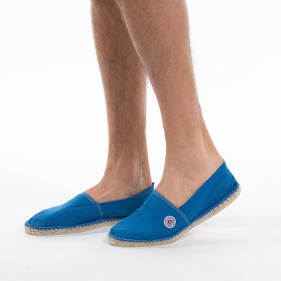 Blue Espadrilles - Klein blue espadrilles