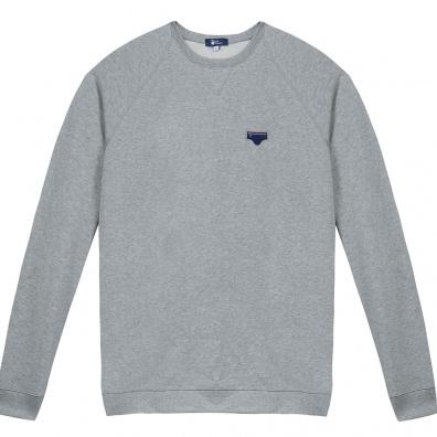 Le Raglan Gris - Grey sweat-shirt