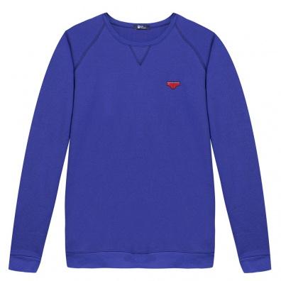 Le Raglan Bleu Roi - Klein blue sweat-shirt