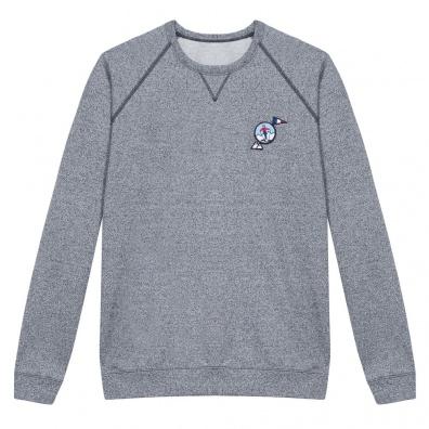 Le Chamois - Blue marle sweat shirt