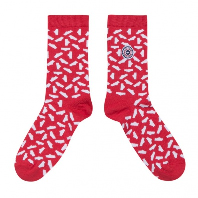 La danse des slips - socks red and white