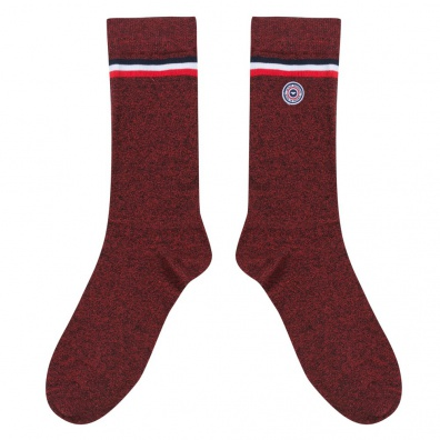 Avoriaz - Red marle socks
