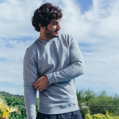 Grey Marle SweatShirt - The grey sweat-shirt