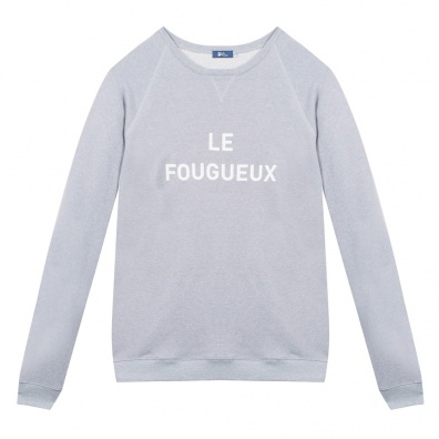 Le Belle Côte - Grey sweat-shirt