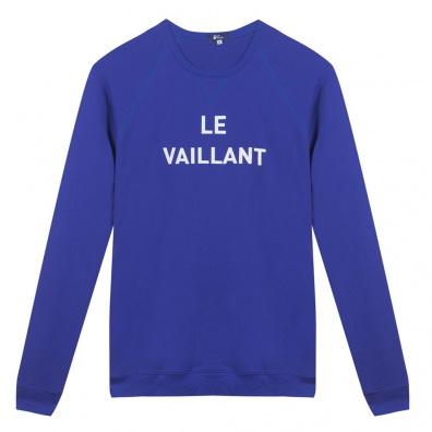 Le Vaillant - Klein blue sweat-shirt