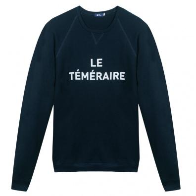 Le Téméraire - Blue sweat-shirt