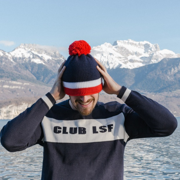 Le Club LSF - Navy Jumper