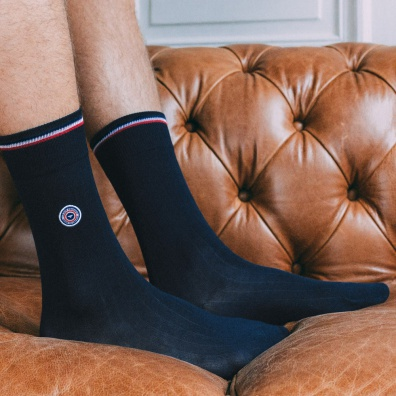Scottish thread socks - Blue socks