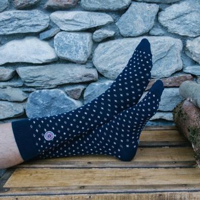 Les Houches - chaussettes marine