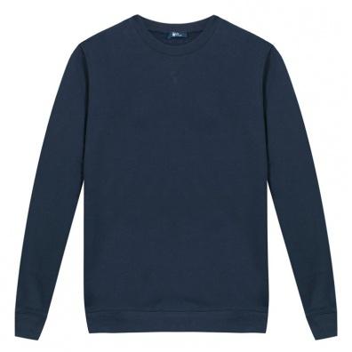 Navy Blue Sweatshirt - The navy blue sweat-shirt